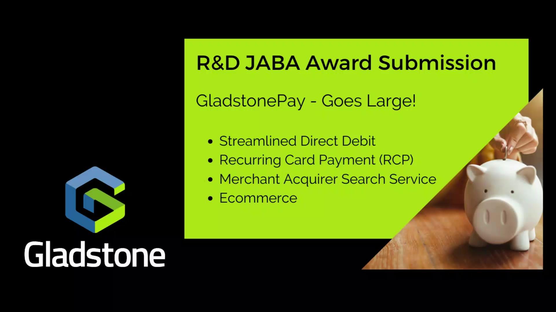 R_D JABA Submission - Gladstone 3mins LR