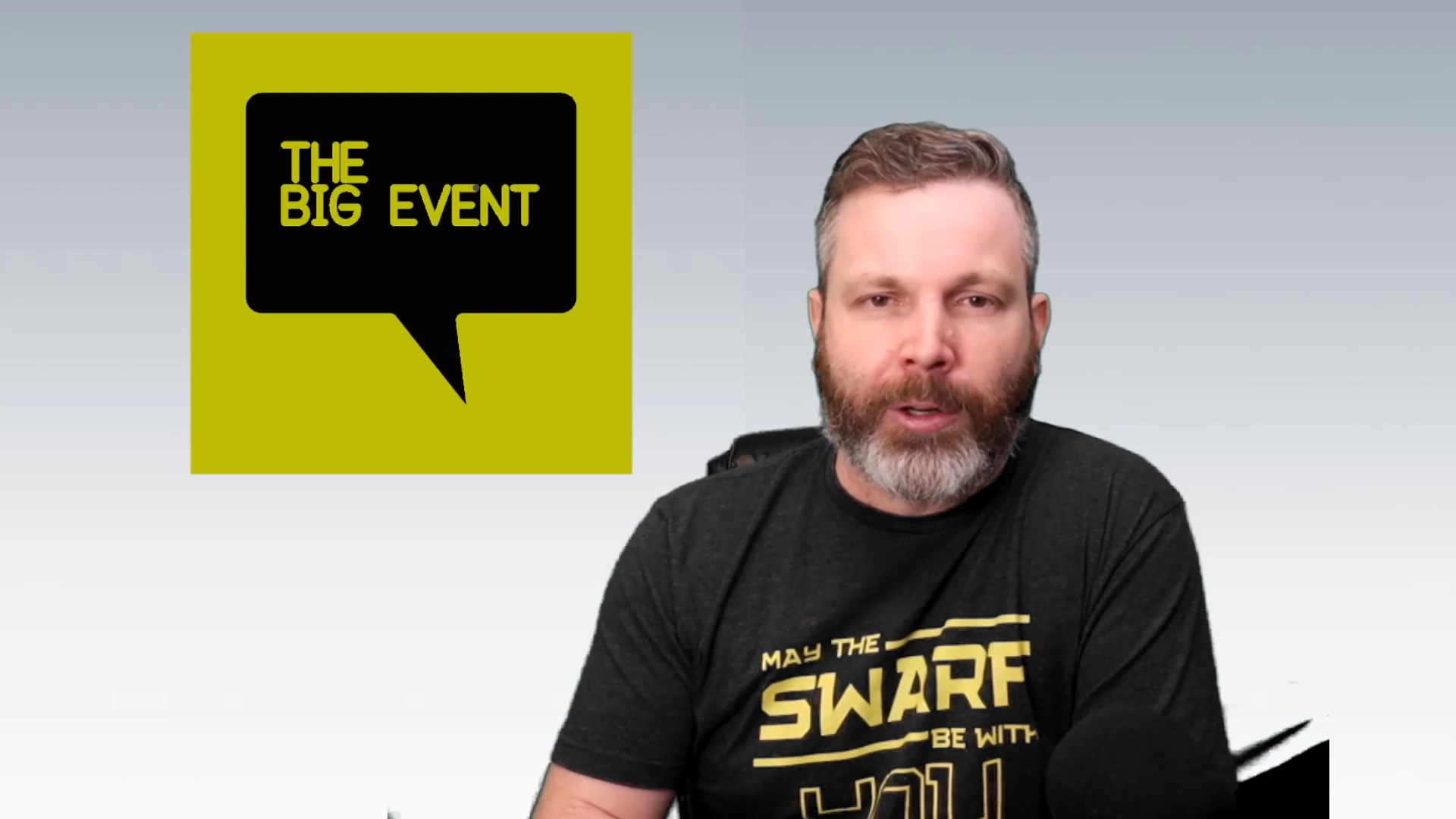 The Big Event Promo-Mike Wearne-caminstructor