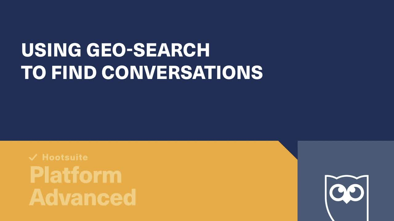 Using Geo-search to Find Conversations