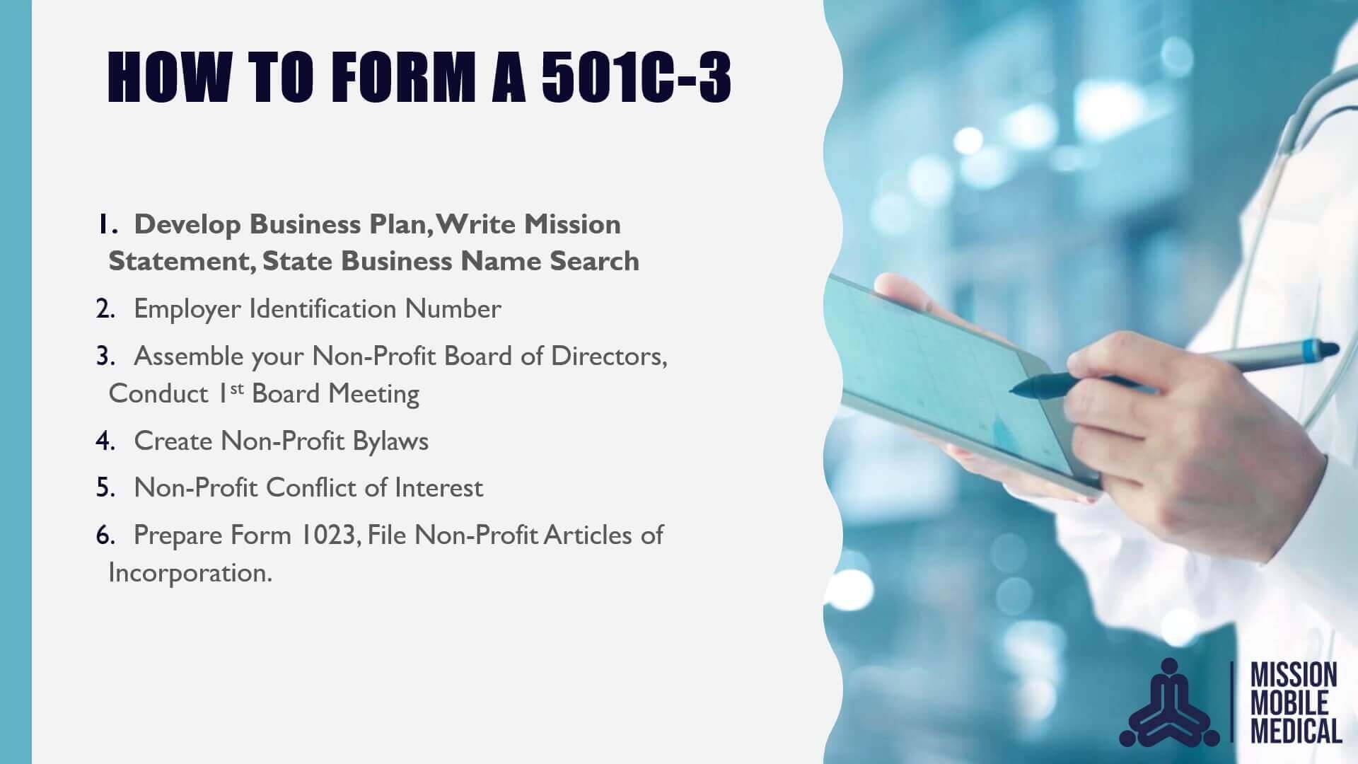 501c-3 - Overview - Part 2