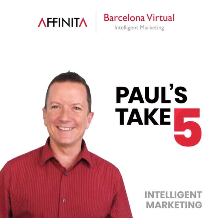 Barcelona Virtual - Intelligent Marketing - Video Short - Take 5!