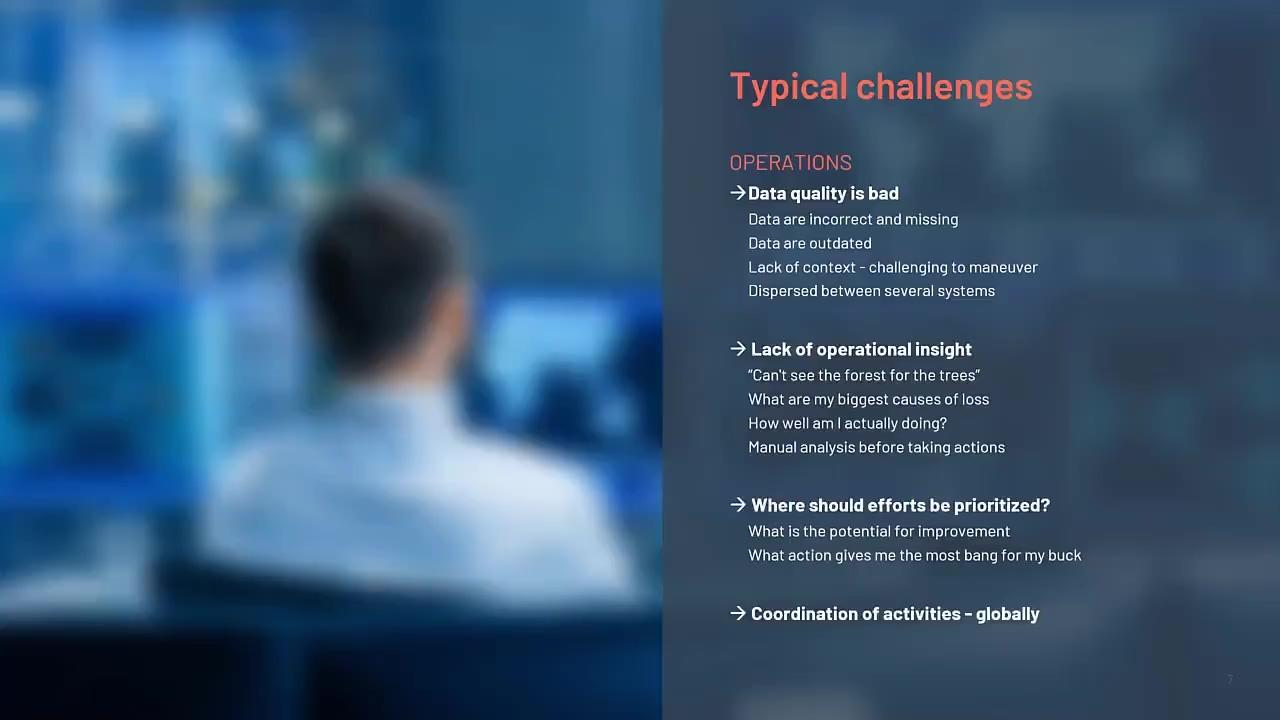 Utilising digitalisation to maximise operational performance