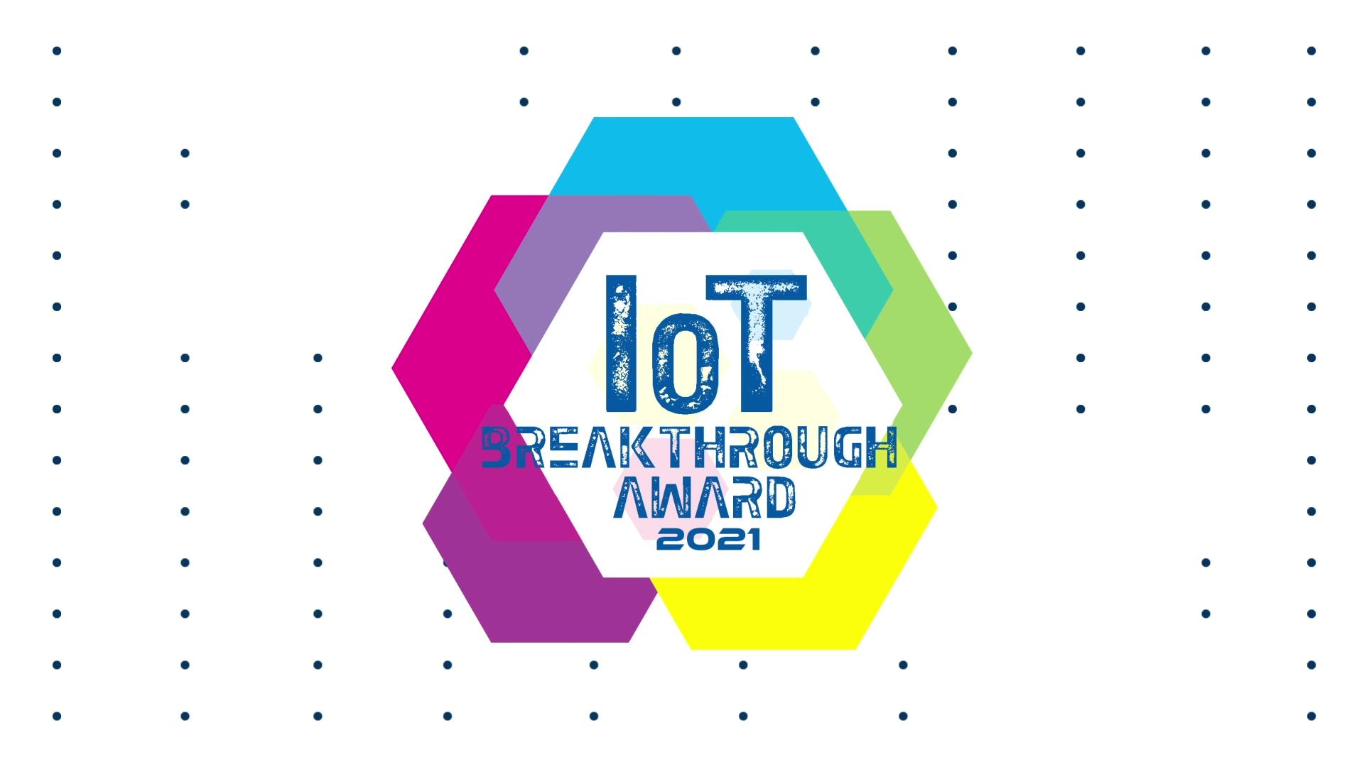 Very Awards Series IoT Breakthrough Awards 2021 v1