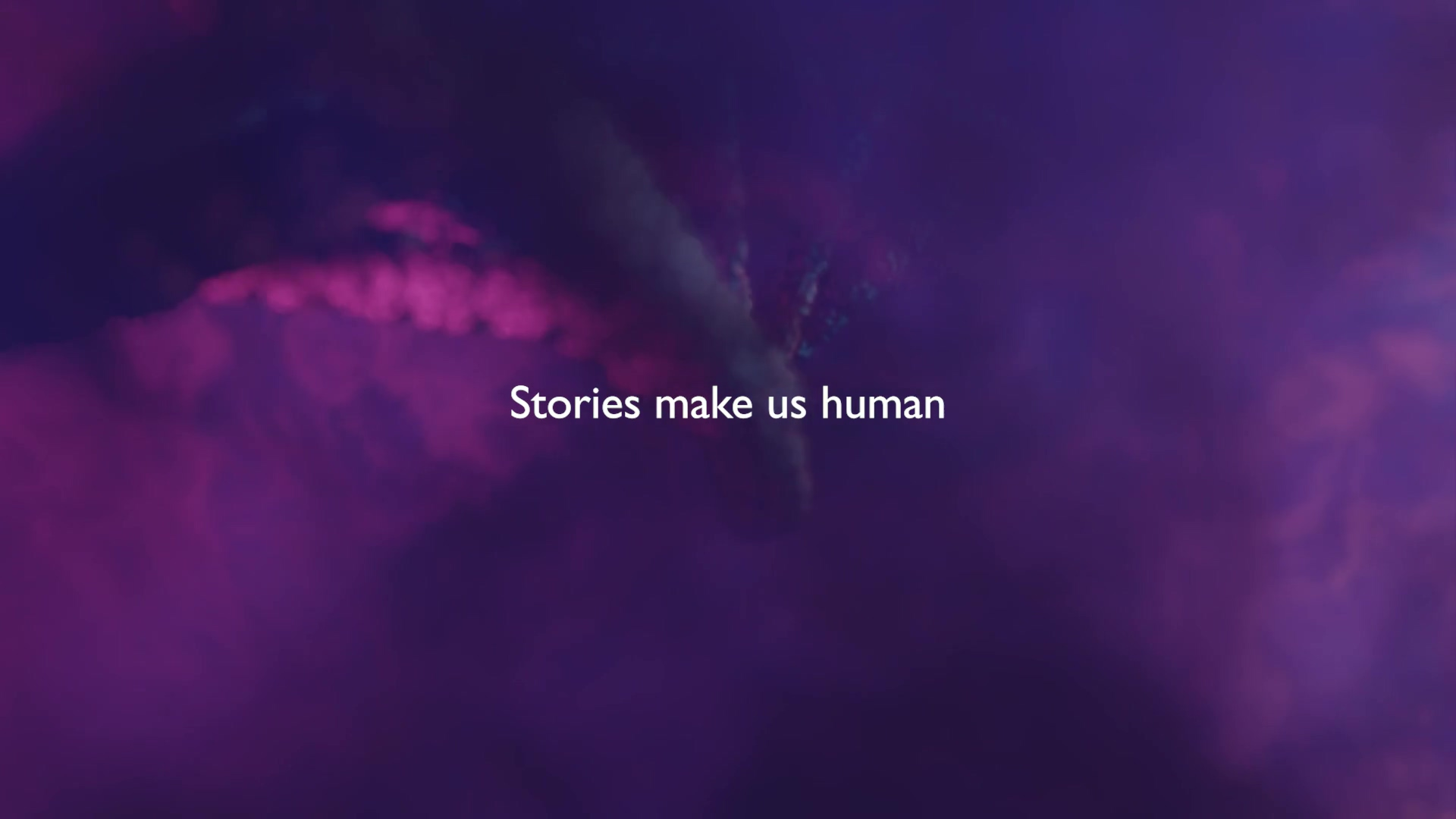Stories Make us Human