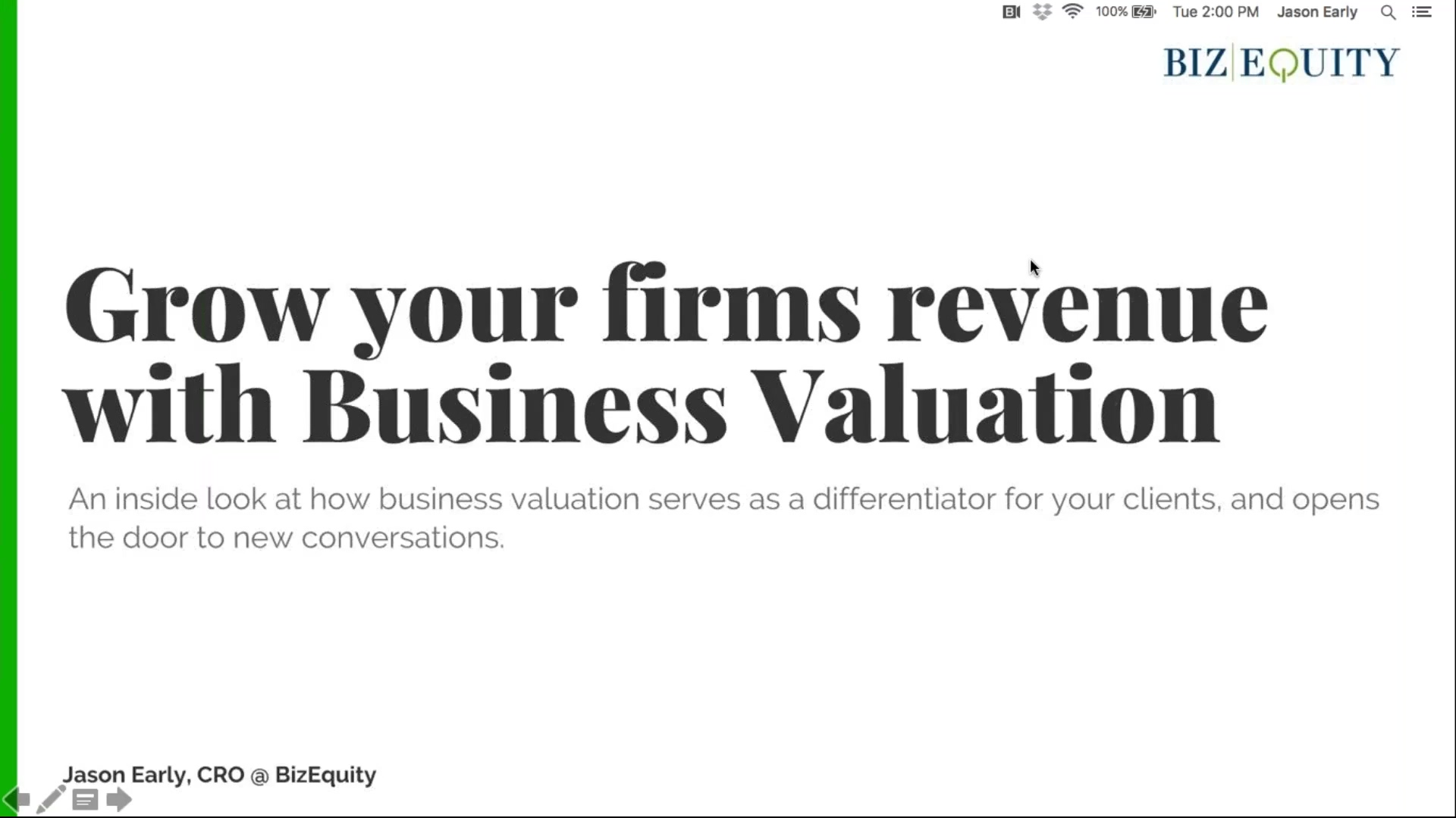 Grow Your Firm's Revenue Using Business Valuation-2