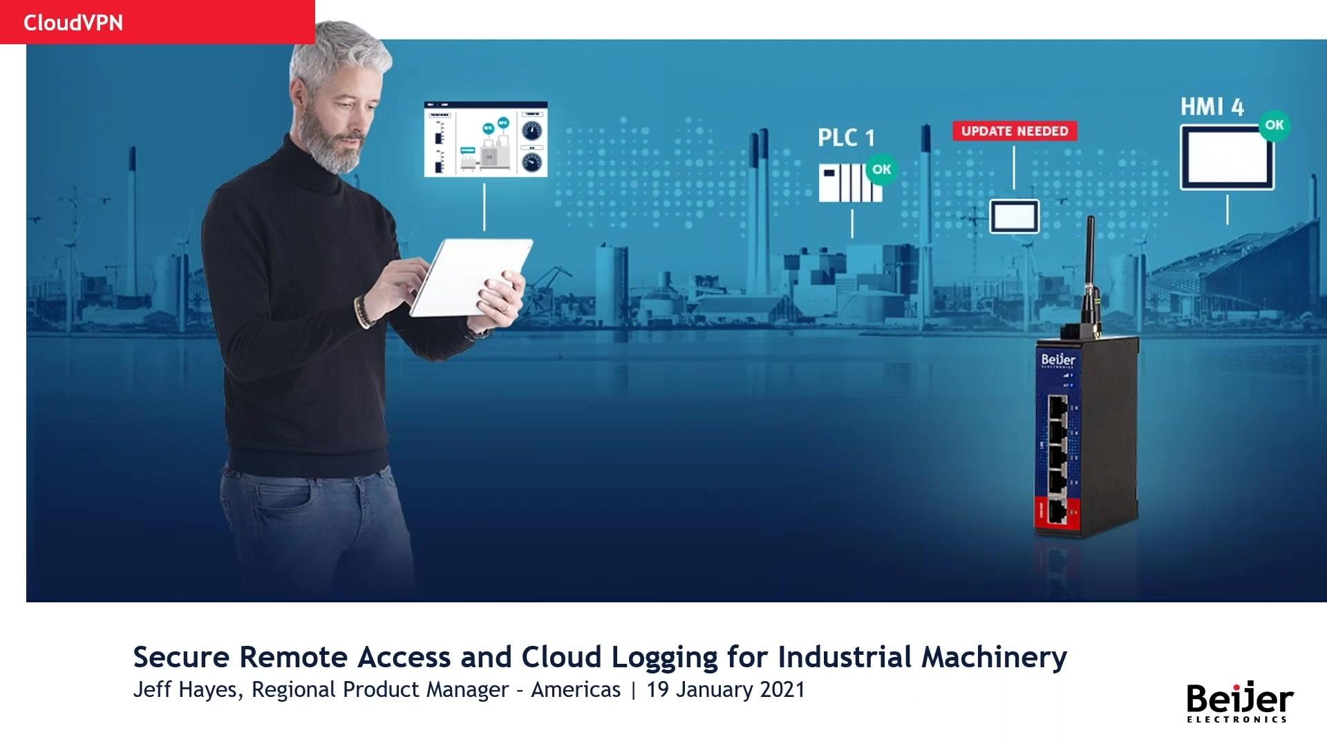 Beijer Webinar 1-2021_Secure Remote Access