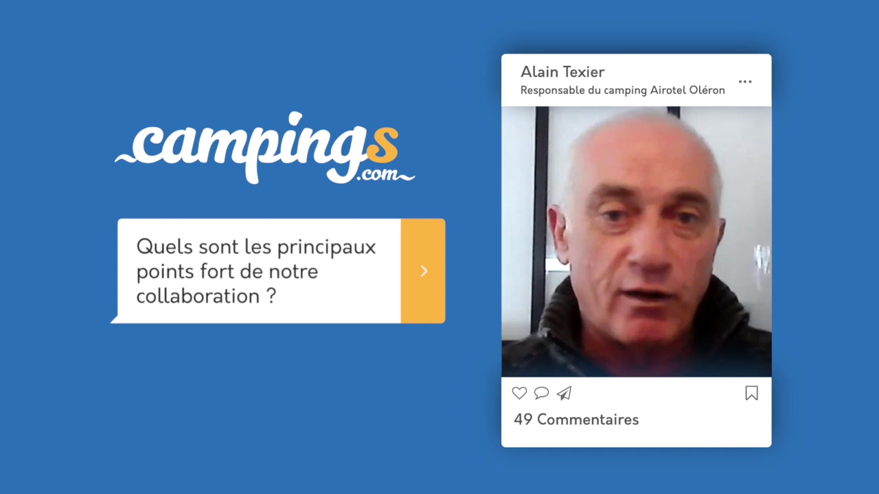 Campings.com interview Alain Texier Airotel Oléron