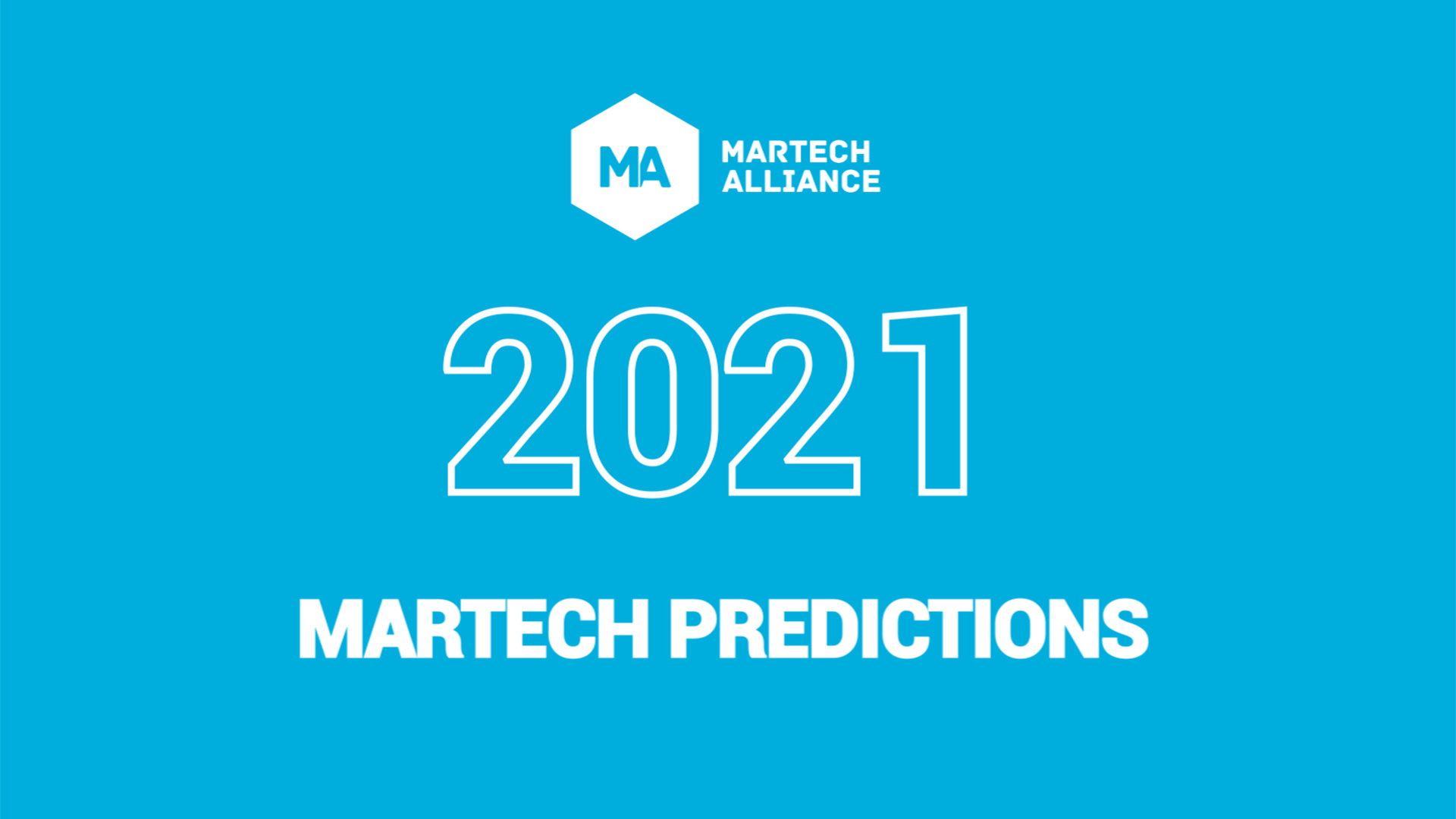 WebSesh: 2021 Martech Predictions Write Up