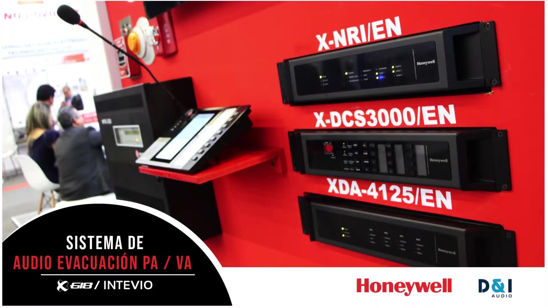 PAVA System  Sistemas de Audio Evacuación X618 by Honeywell_1080p