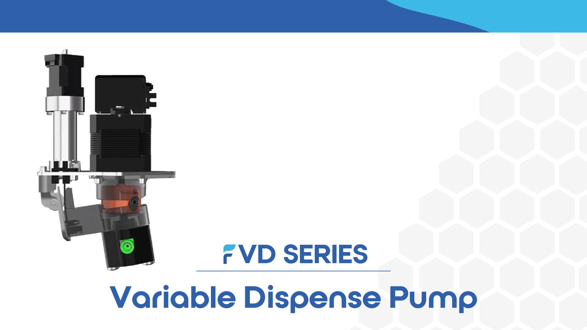 Fluid Metering Variable Dispense Pump