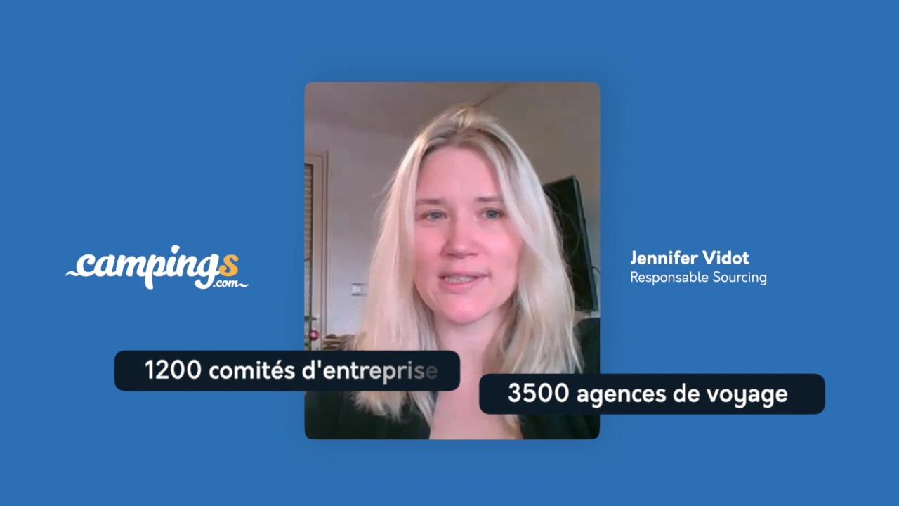 Campings.com interview Jennifer Vidot Responsable sourcing