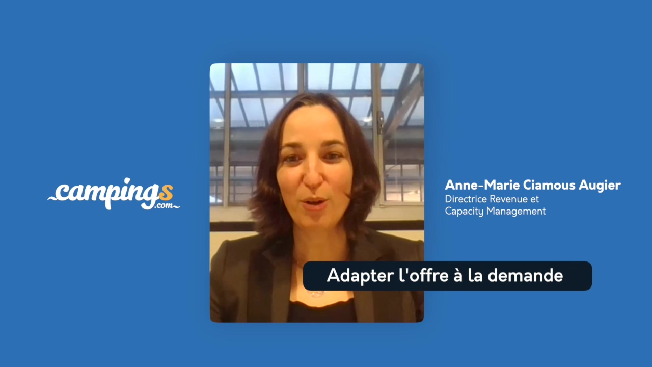 Campings.com interview Anne-Marie yield management