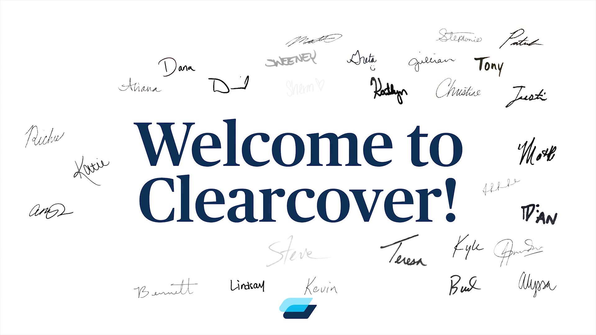 Welcome to Clearcover! (1)