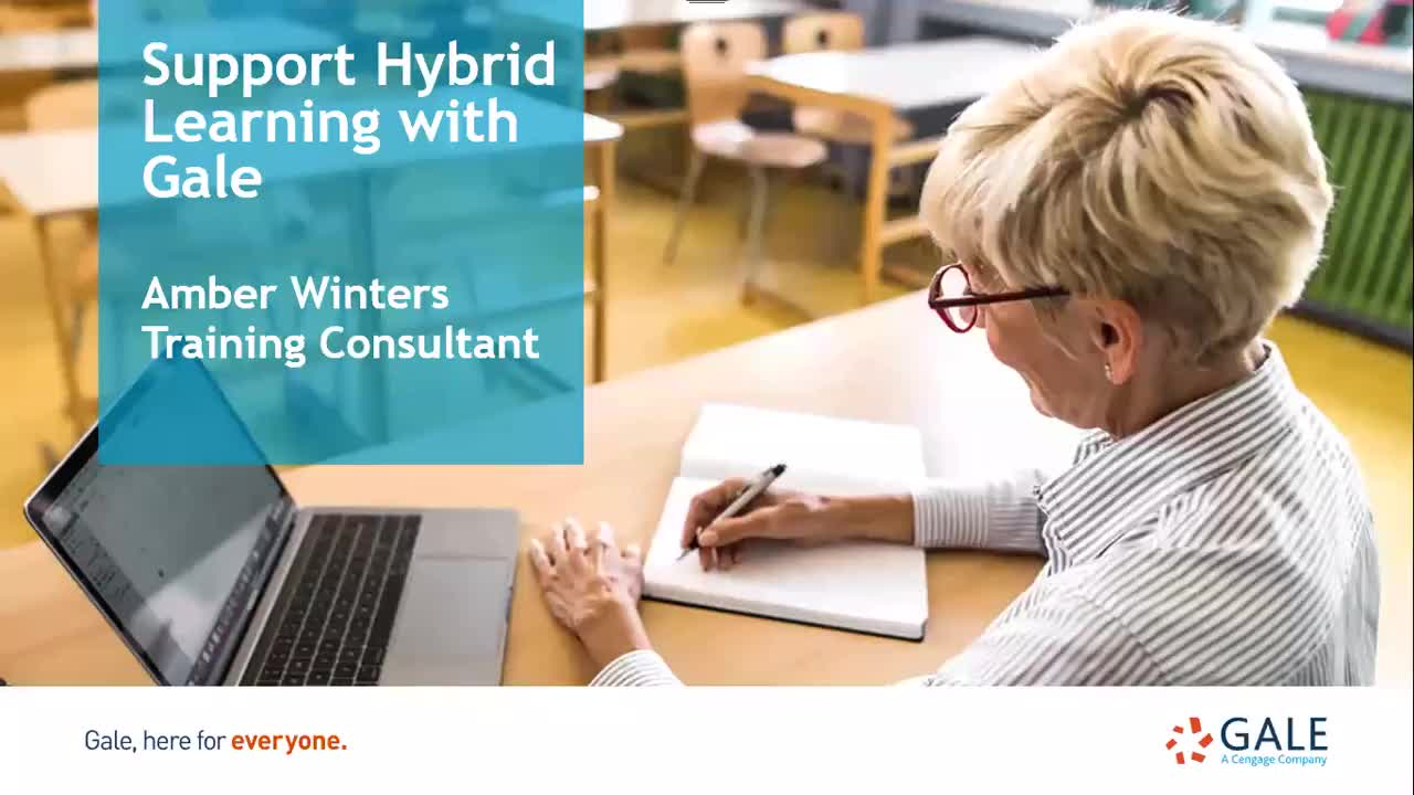Support Hybrid Learning with Gale Thumbnail