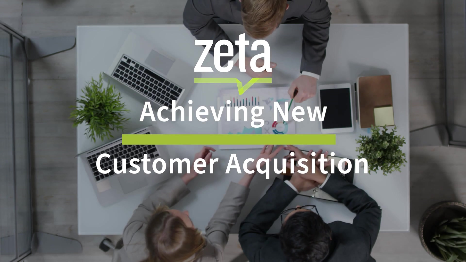Achieving New Customer Acquisition