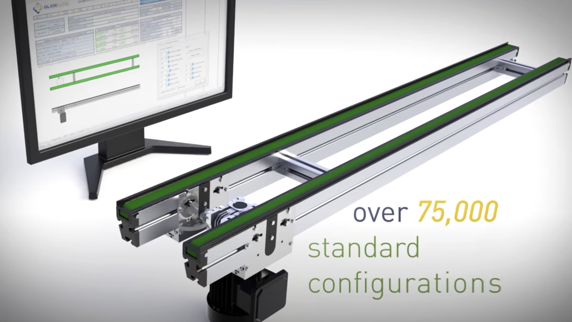 Glide-Line, the ultimate multi-strand conveyor solution