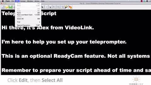 Video 6: Using Your Teleprompter