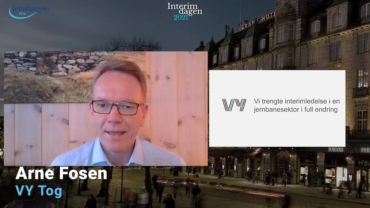Foredrag Arne Fosen