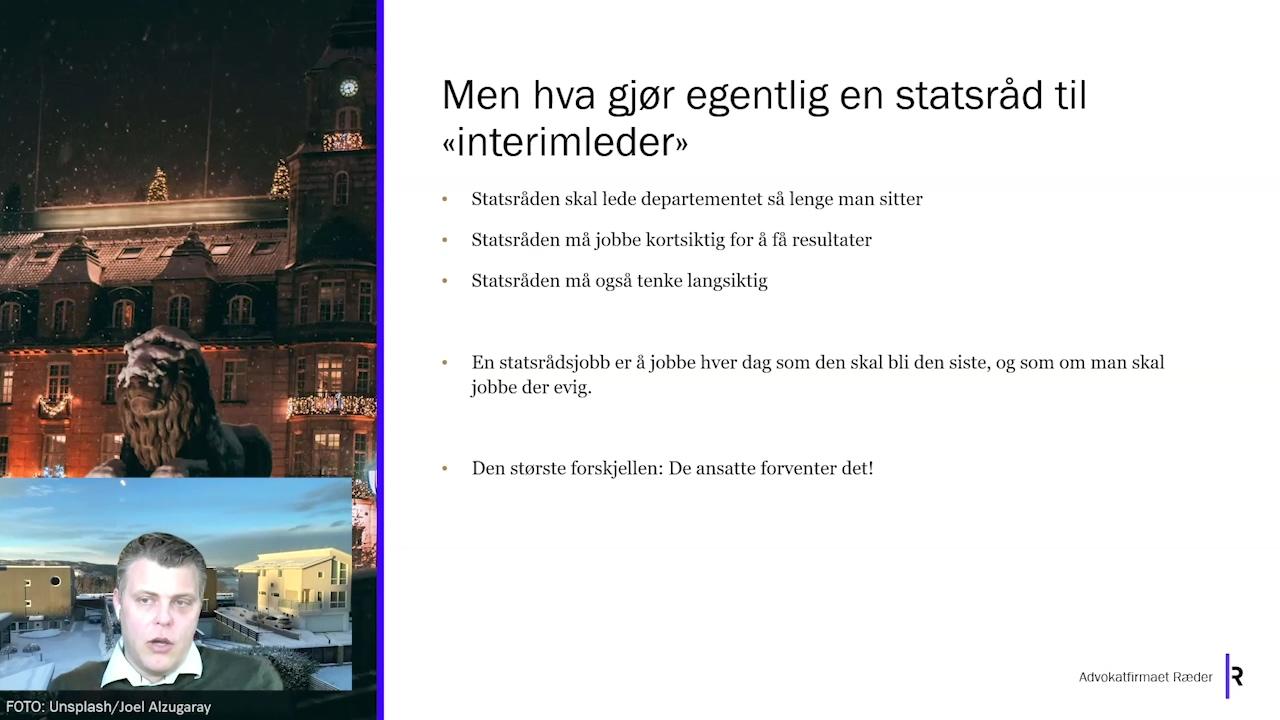 Foredrag Jøran Kallmyr
