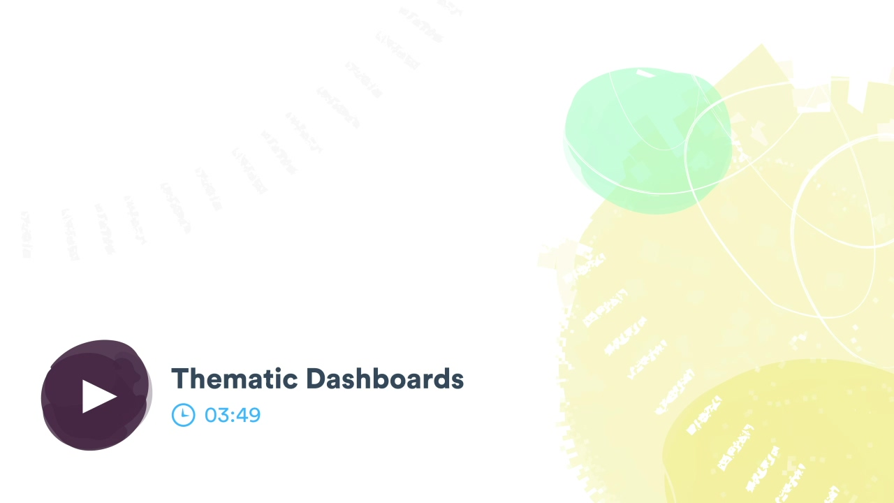Thematic Dashboards - 01