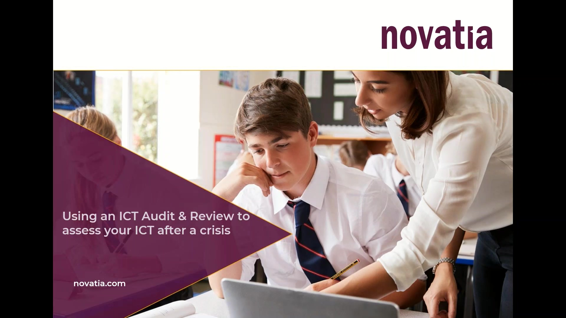 Using an ICT Audit & Review to Assess your ICT after a crisis