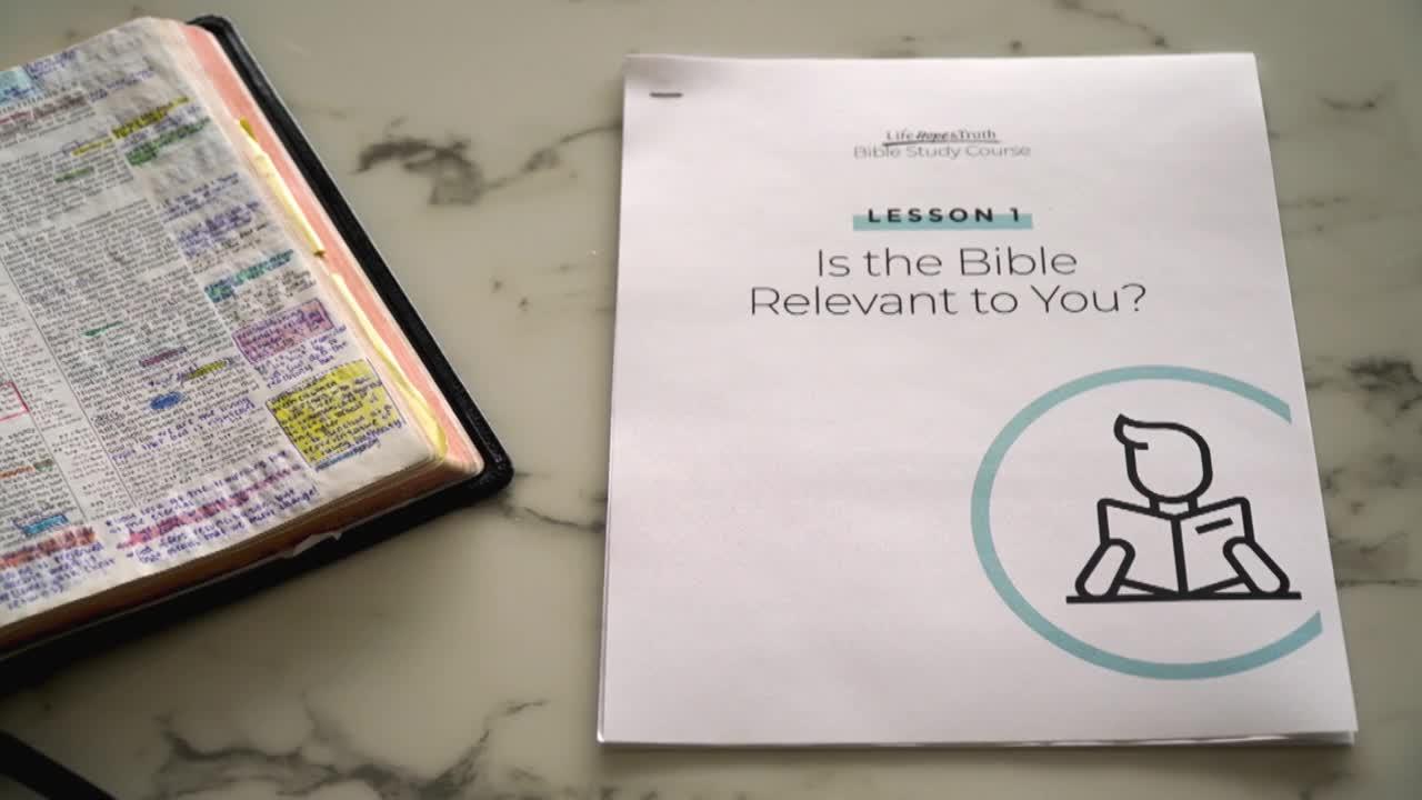 Bible Study Course Promo