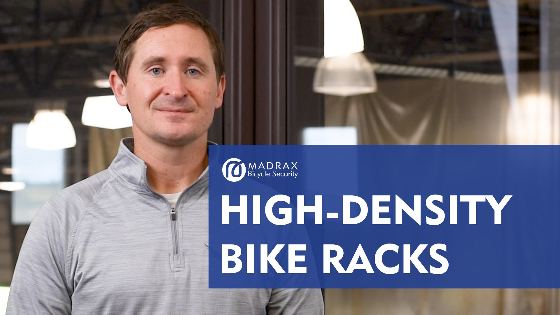 High Density Bike Parking Racks