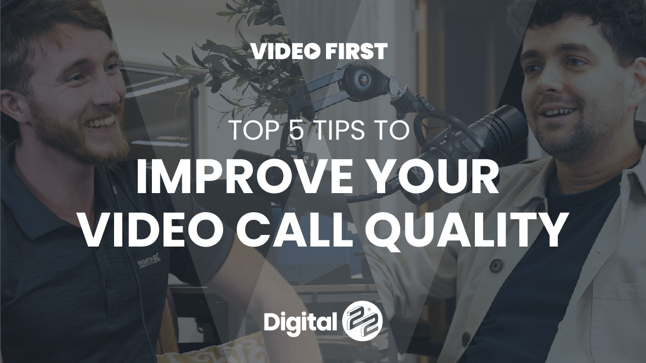 VIDEO FIRST: Top 5 tips for better webinars and video calls