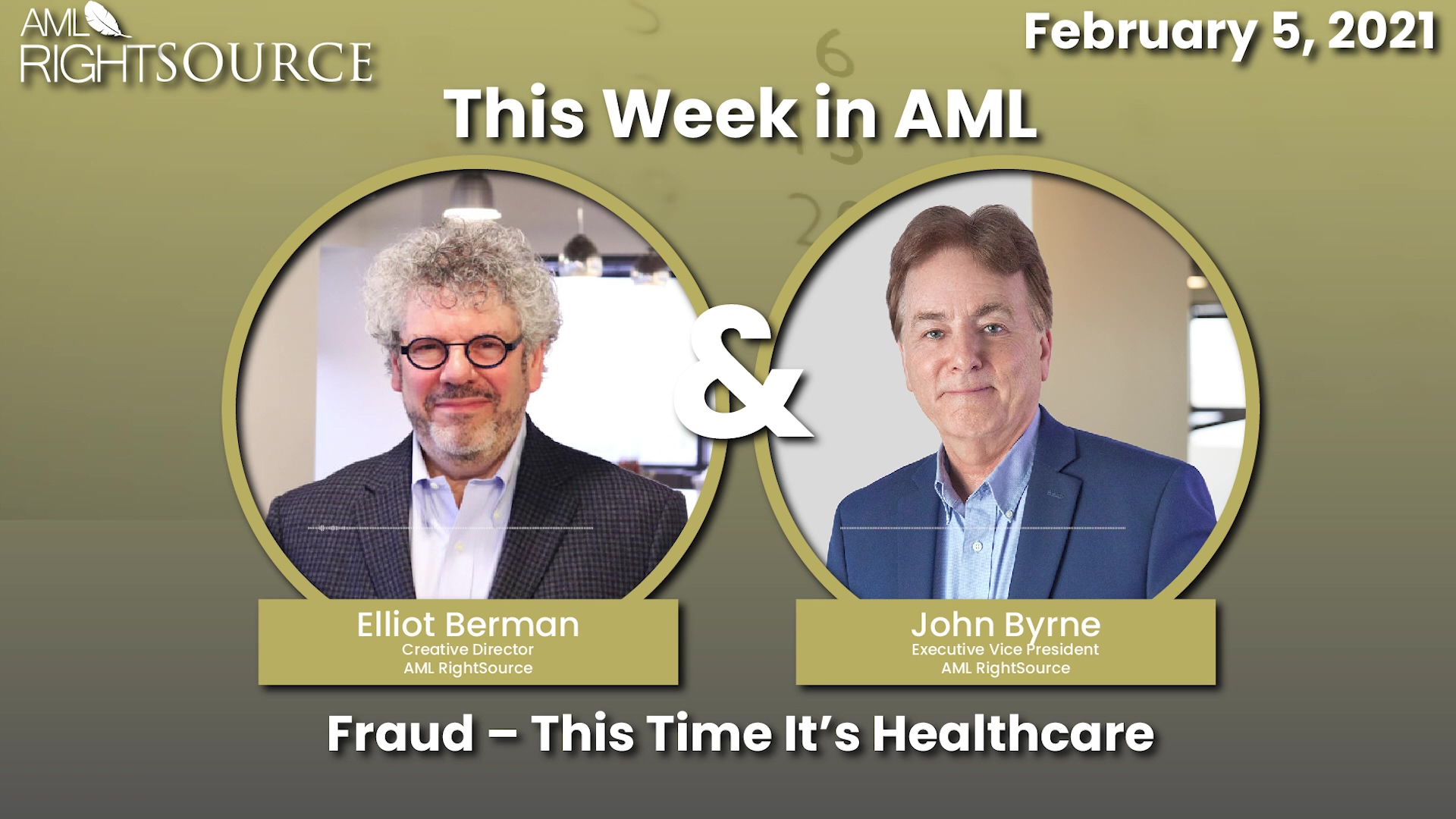 Fraud – This Time It's Healthcare