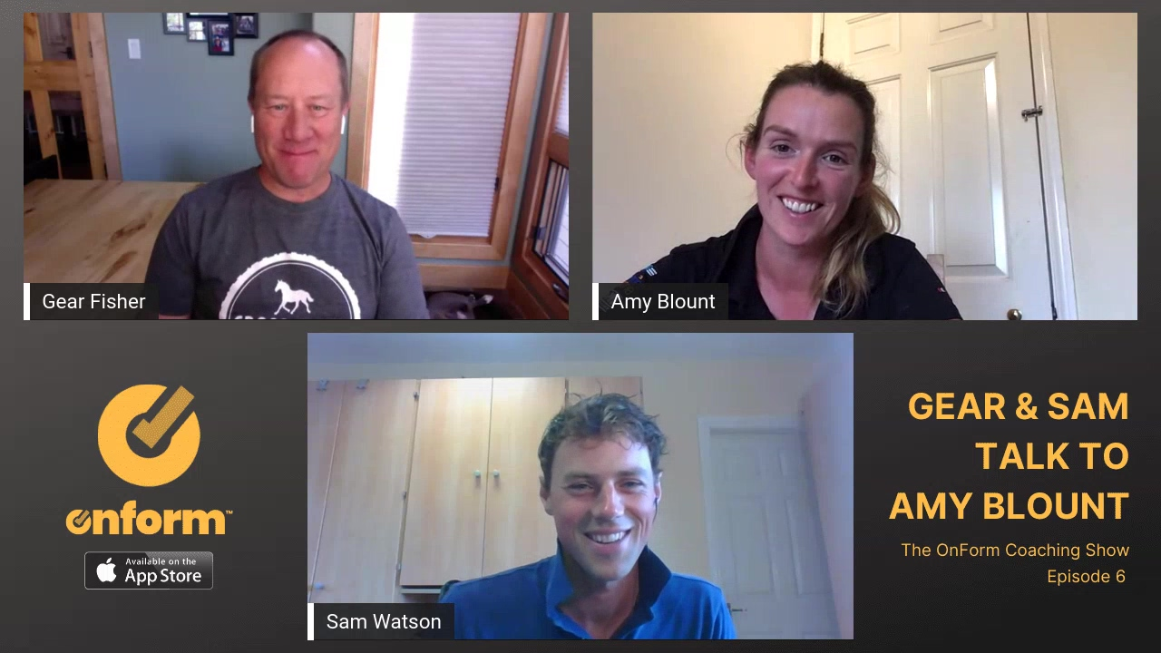 The OnForm Coaching Show Episode 6 - Interview with Equestrian Coach Amy Blount