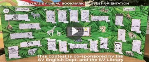 7th Grade Bookmark Contest Orientation