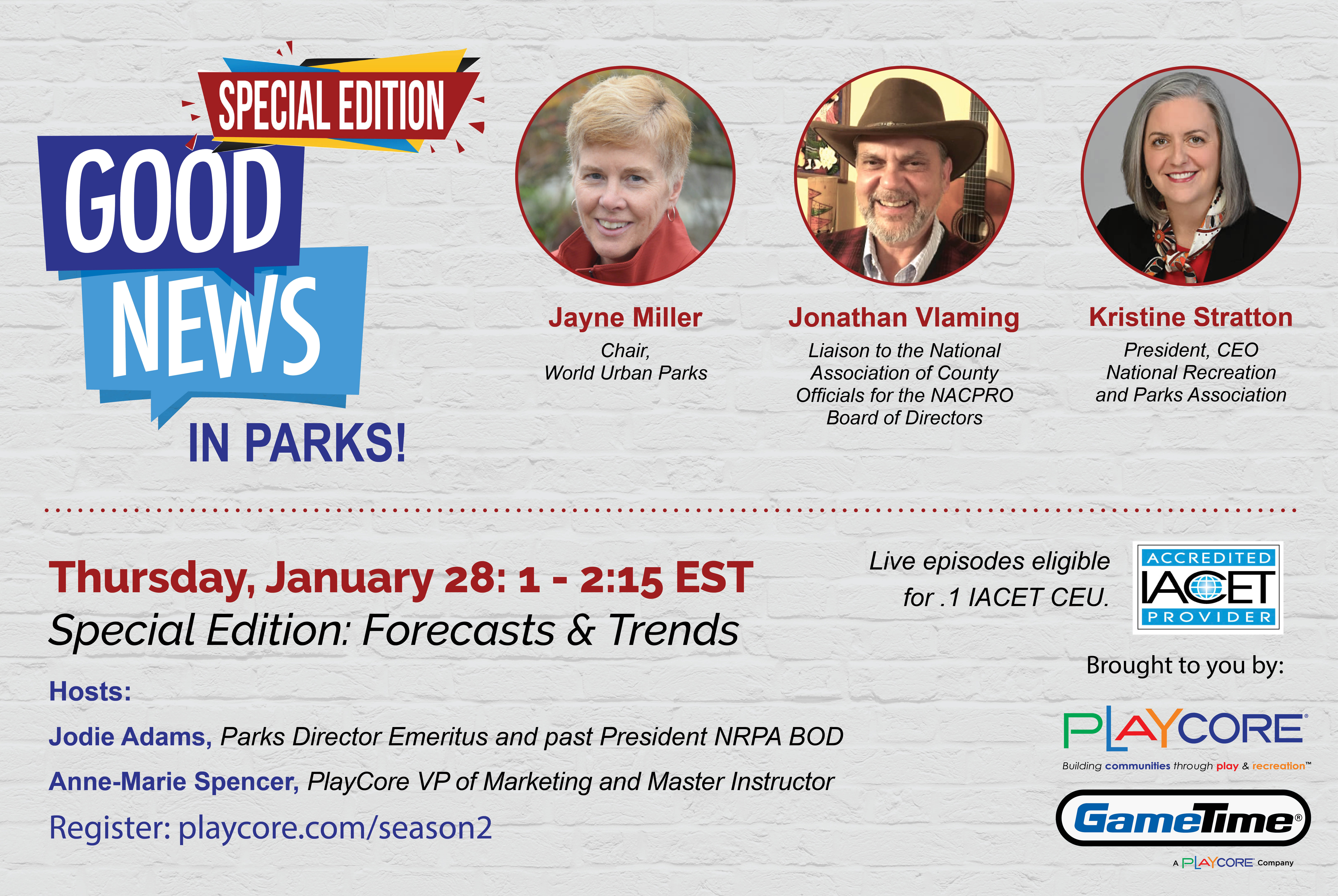 Good News in Parks Special Edition