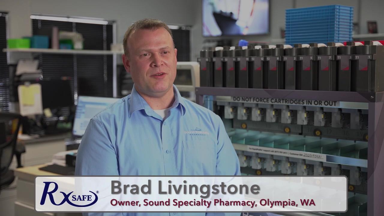 RapidPakRxTestimonial_SoundSpecialtyPharmacy_BradLivingstone