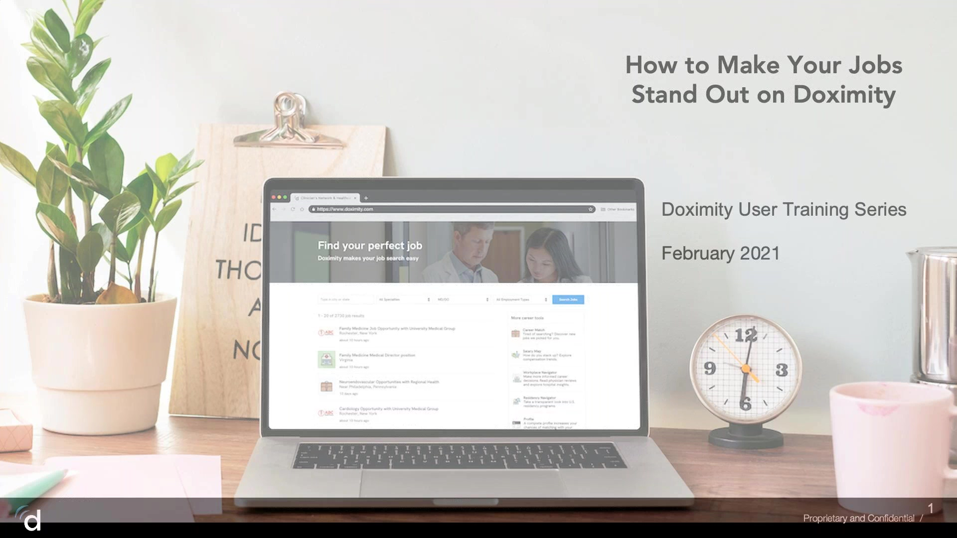 Feb 2021- How to Make Your Jobs Stand Out - Recording