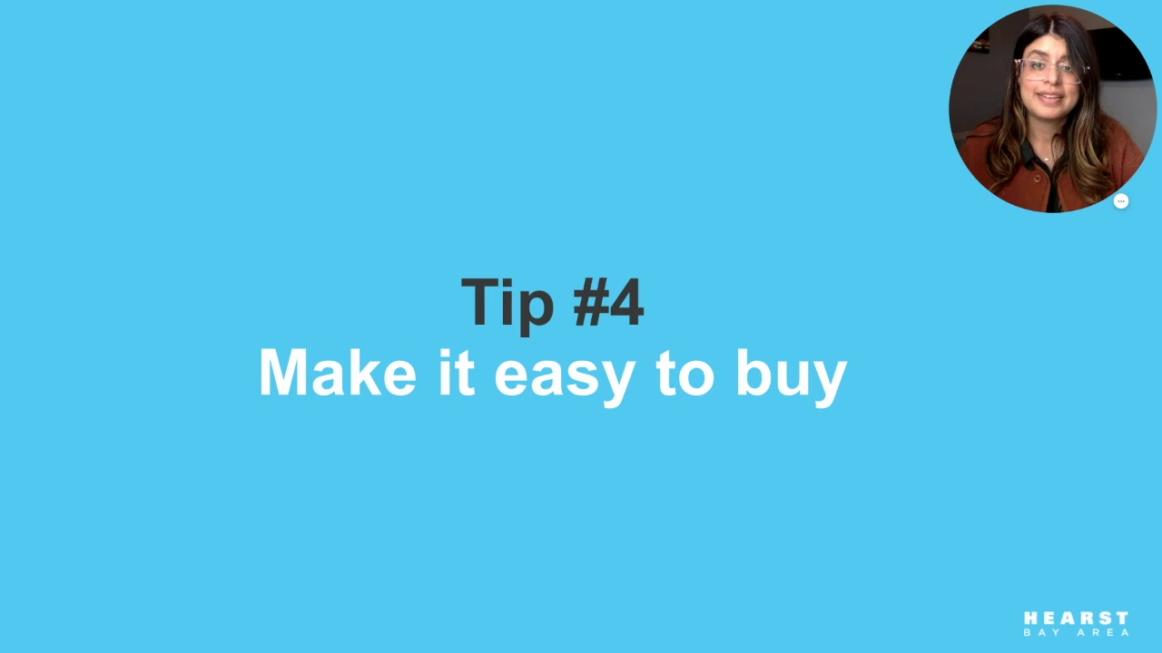Tip 4 - Make It Easy to Buy_Supercharge Your Social Media Strategy in 2021