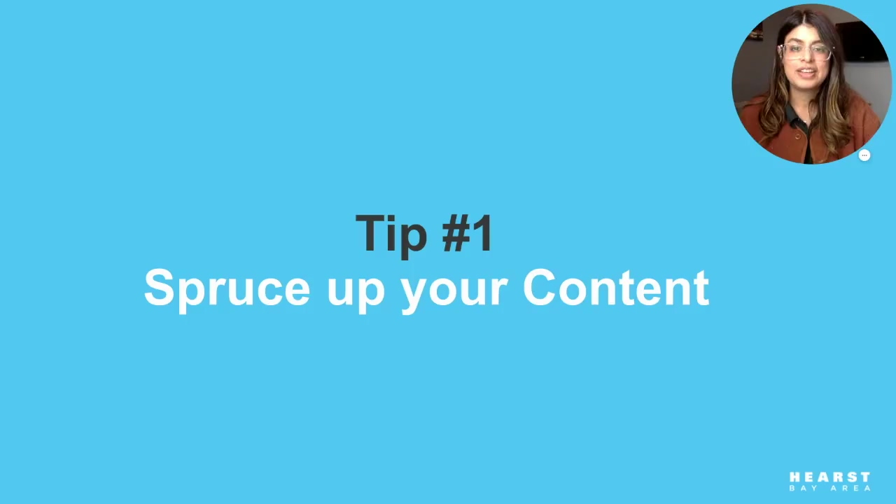 Tip 1 - Spruce Up Your Content_Supercharge Your Social Media Strategy in 2021