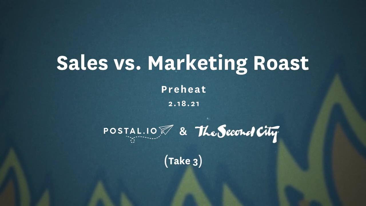 Postal.io - Sales vs. Marketing Roast