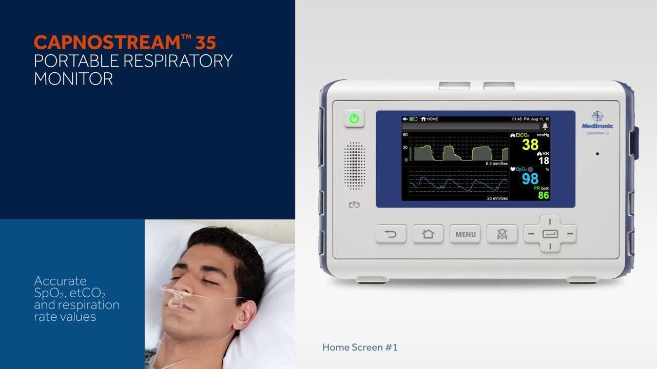 A Complete Overview: Capnostream™ 35 Portable Respiratory Monitor