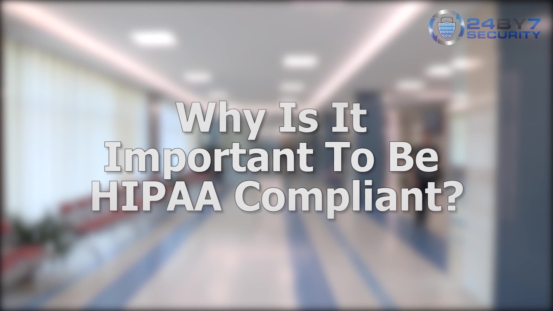 What Is HIPAA - For Hospitals