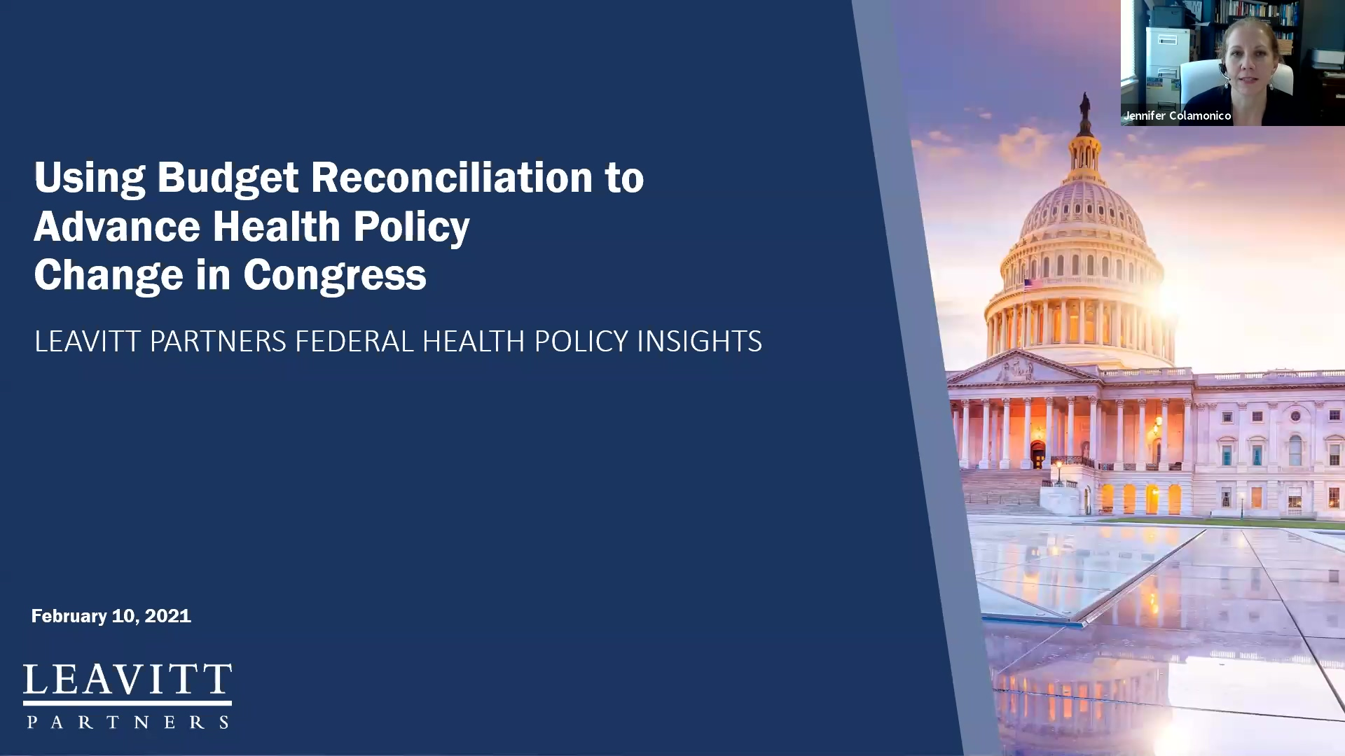 Budget Reconciliation Webinar Recording 2.10.21