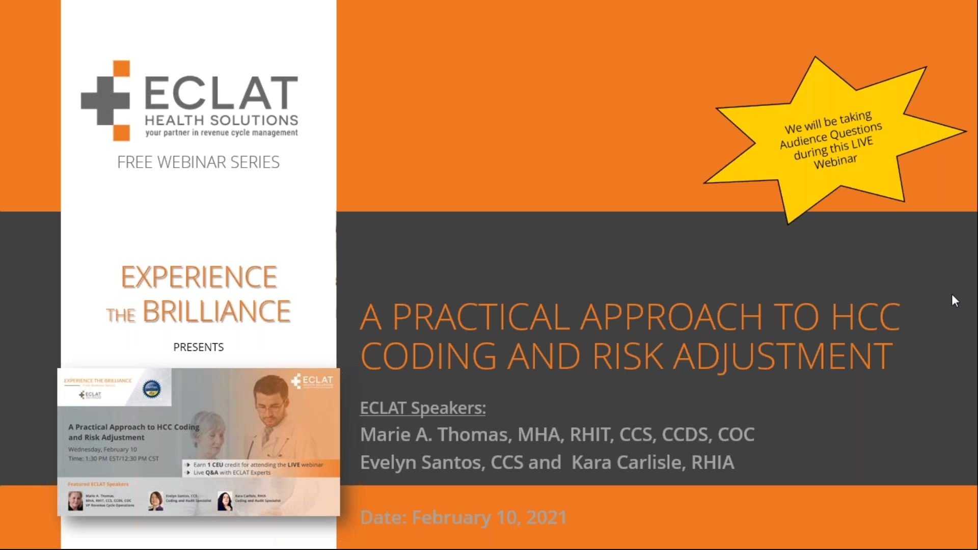 A Practical Approach to HCC Coding and Risk Adjustment