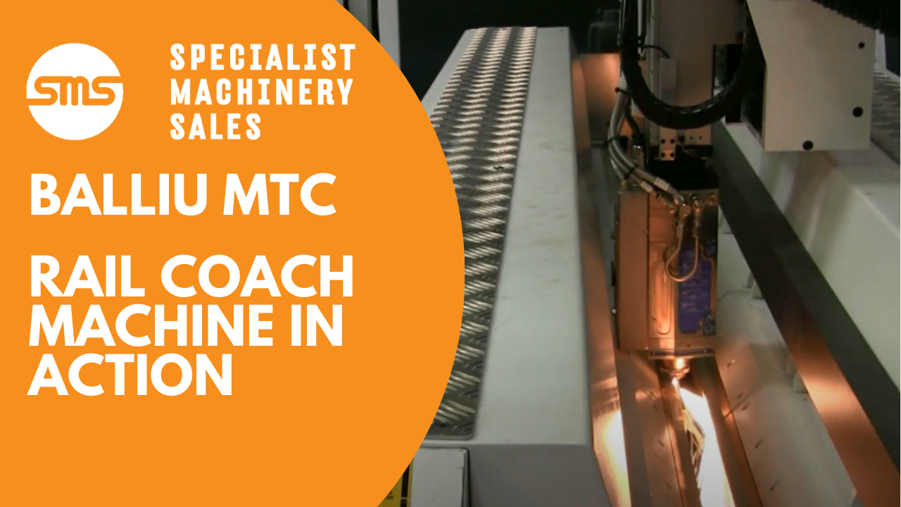 Balliu MTC Rail Coach Machine in Action _ Specialist Machinery Sales