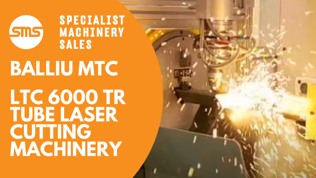 Balliu LTC 6000 TR - Tube Laser Cutting Machinery _ Specialist Machinery Sales