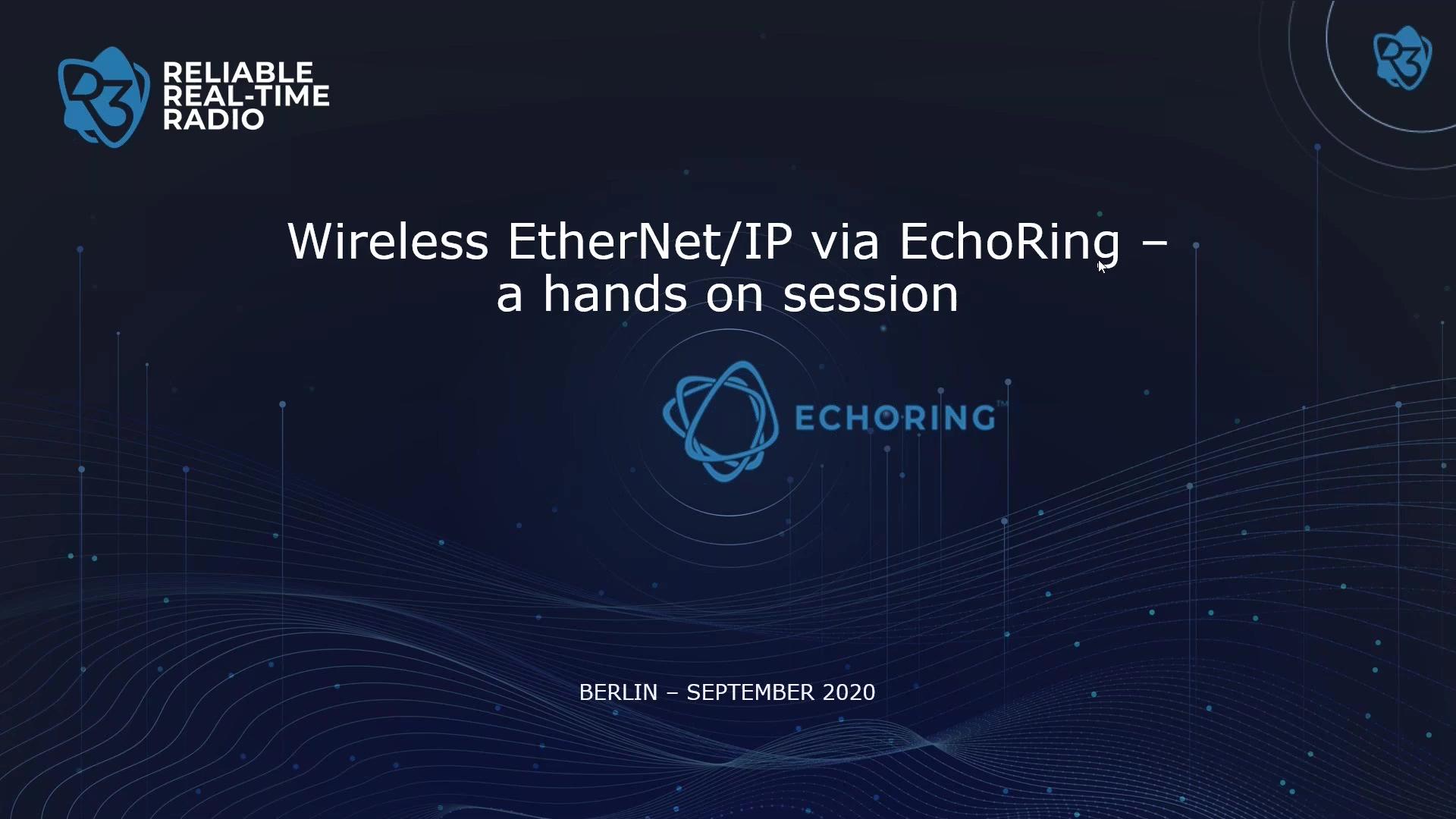 EchoRing Hands-On Session Web-Seminar (EN)