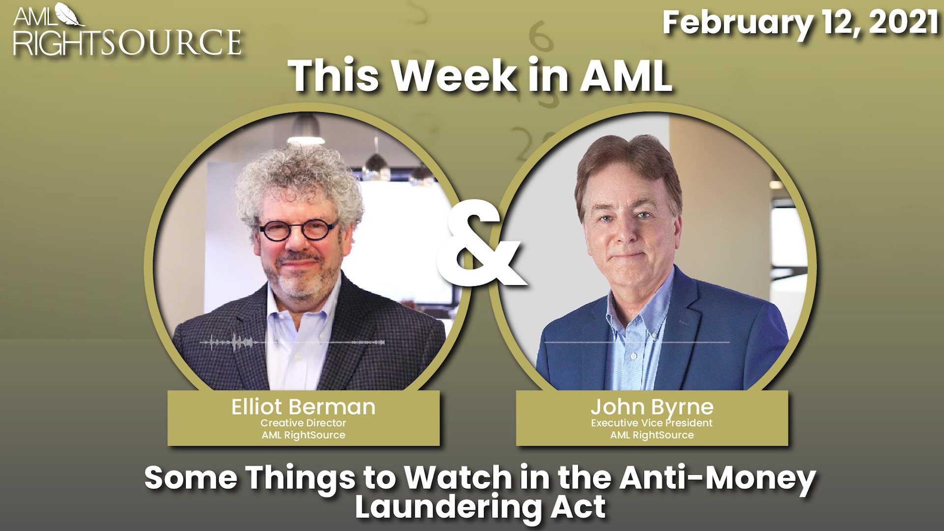 Some Things to Watch in the Anti-Money Laundering Act