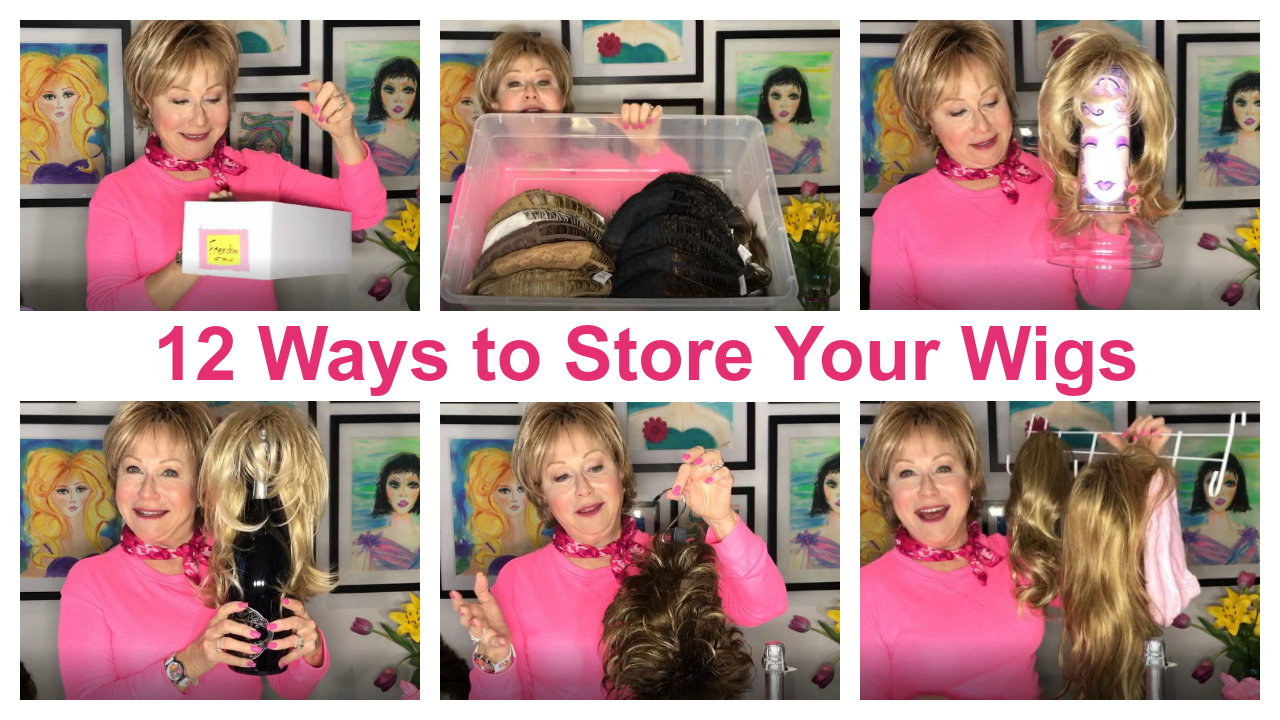 12 Ways to Store Your Wigs