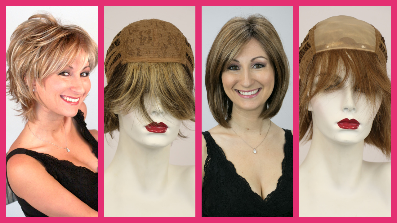 Compare 4 types of wigs