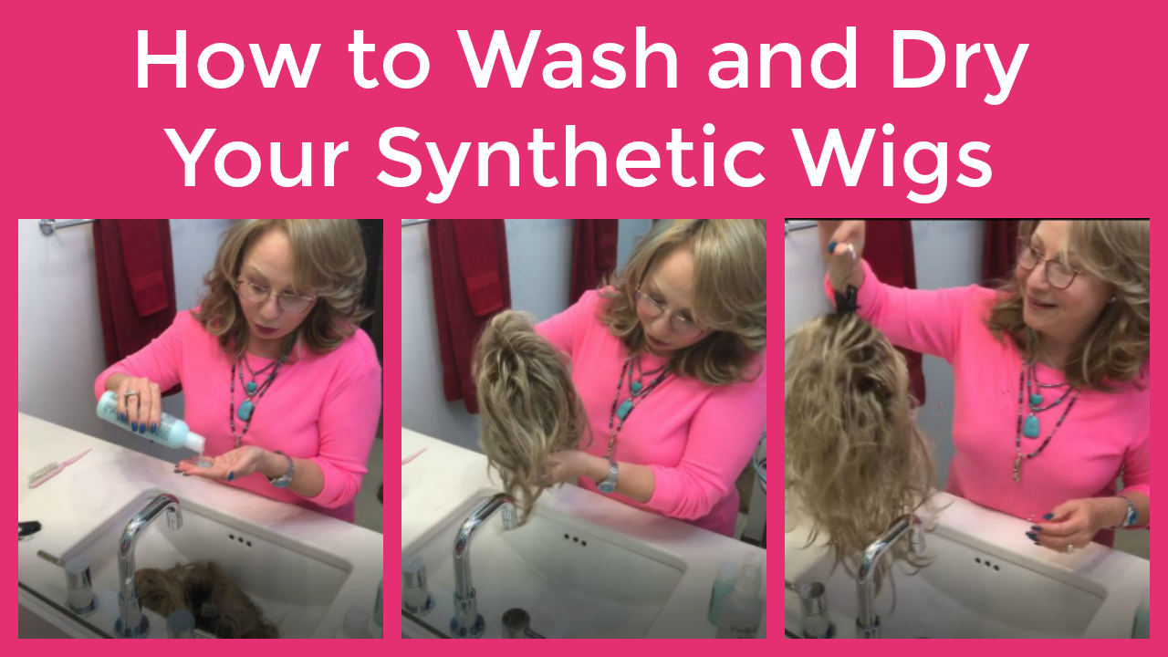 How to Wash and Dry Your Synthetic Wigs