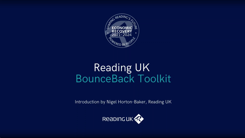Nigel Horton Baker Introduces the Reading UK Bounceback Toolkit