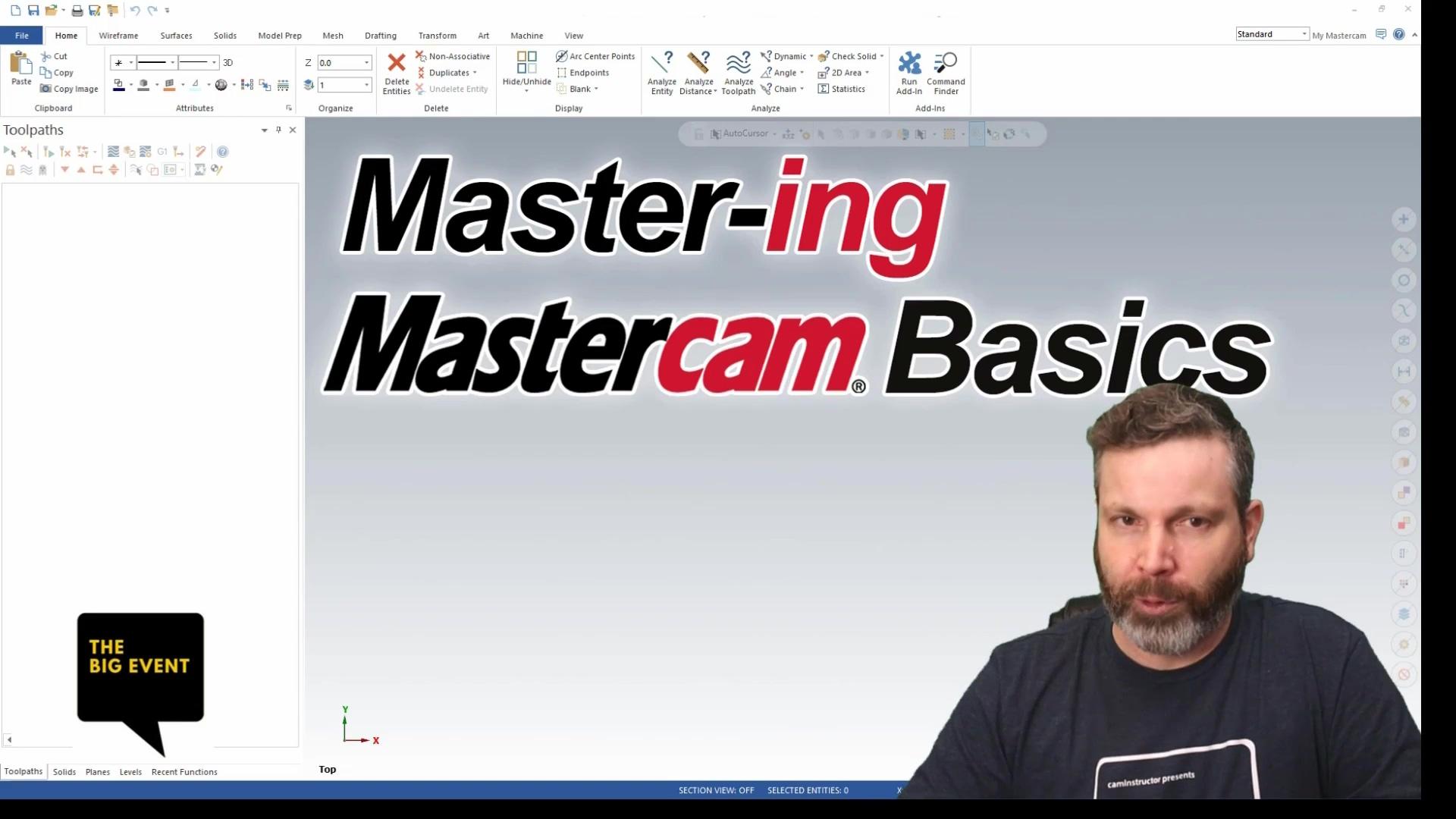 Mike - Mastercam Mastercam Basics